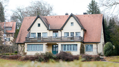"""Die """"Villa Ludendorff"""" in Tutzing. © Julian Feldmann"""